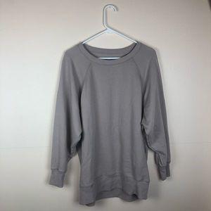 Aerie Tan Oversized Crew Neck Sweatshirt size M